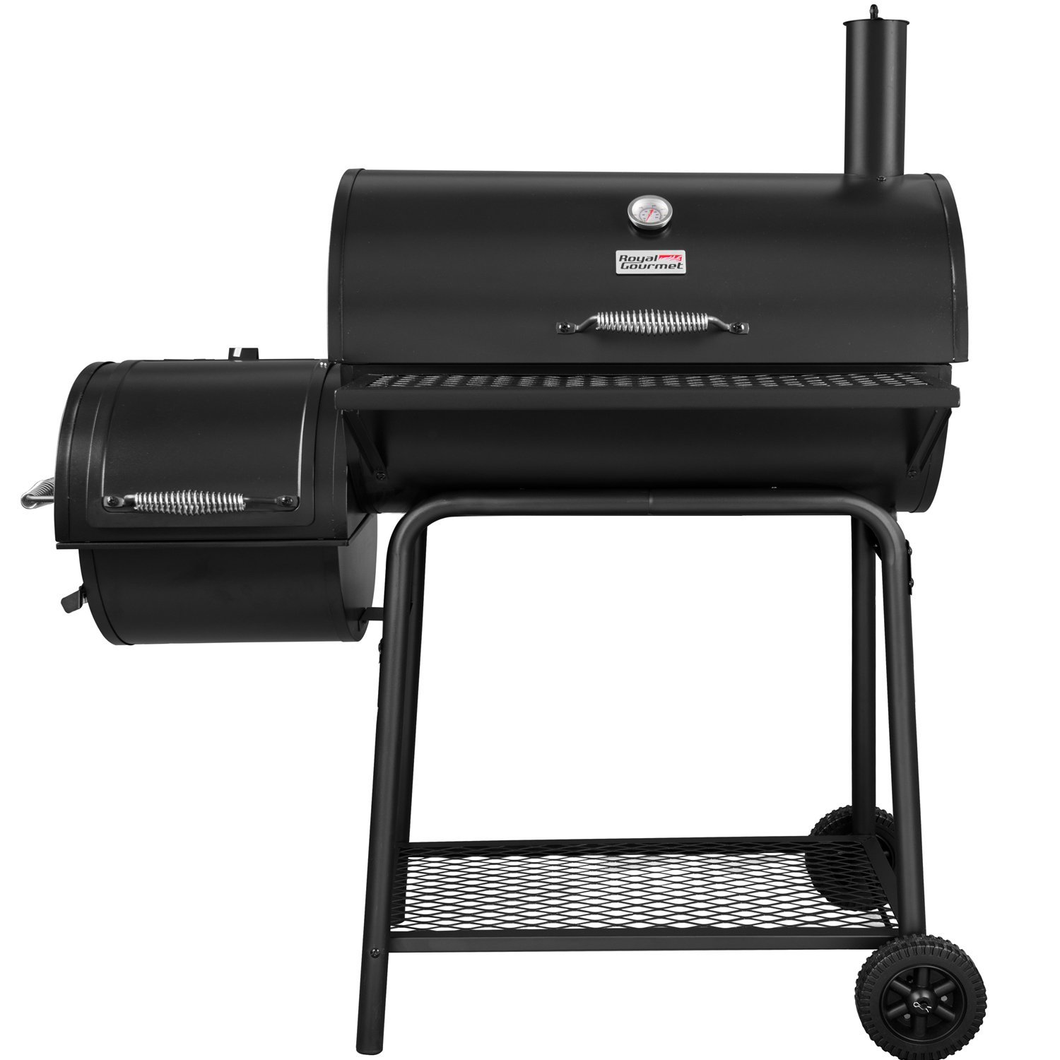 Royal Gourmet Charcoal Grill with Offset Smoker