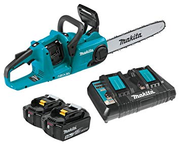 Makita XCU03PT 18V X2 (36V) LXT Lithium-Ion Brushless Cordless 14 - Battery Powered Chainsaw