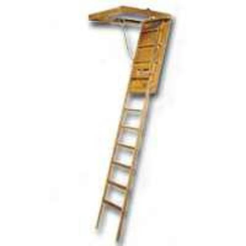 LOUISVILLE LADDER FTL224P Wood Attic Ladder, 1210""