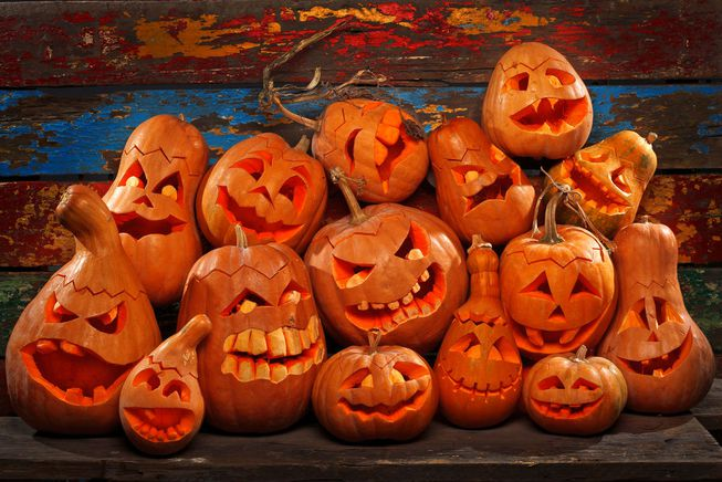 Reusable Jack o' Lanterns