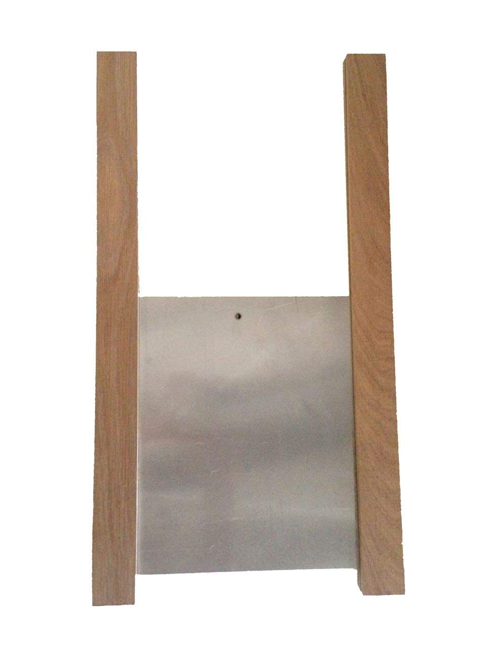 ChickenGuard Chicken Coop Pop Door Kit - Oak Runners & Aluminum Door Panel