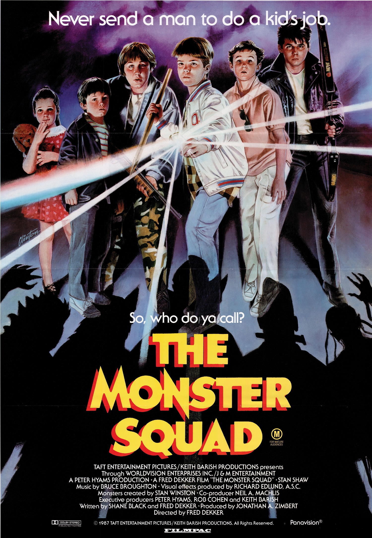 The Monster Squad - Halloween Movie of All Time