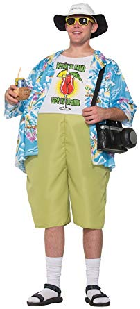 Forum Men's Tropical Tourist Costume