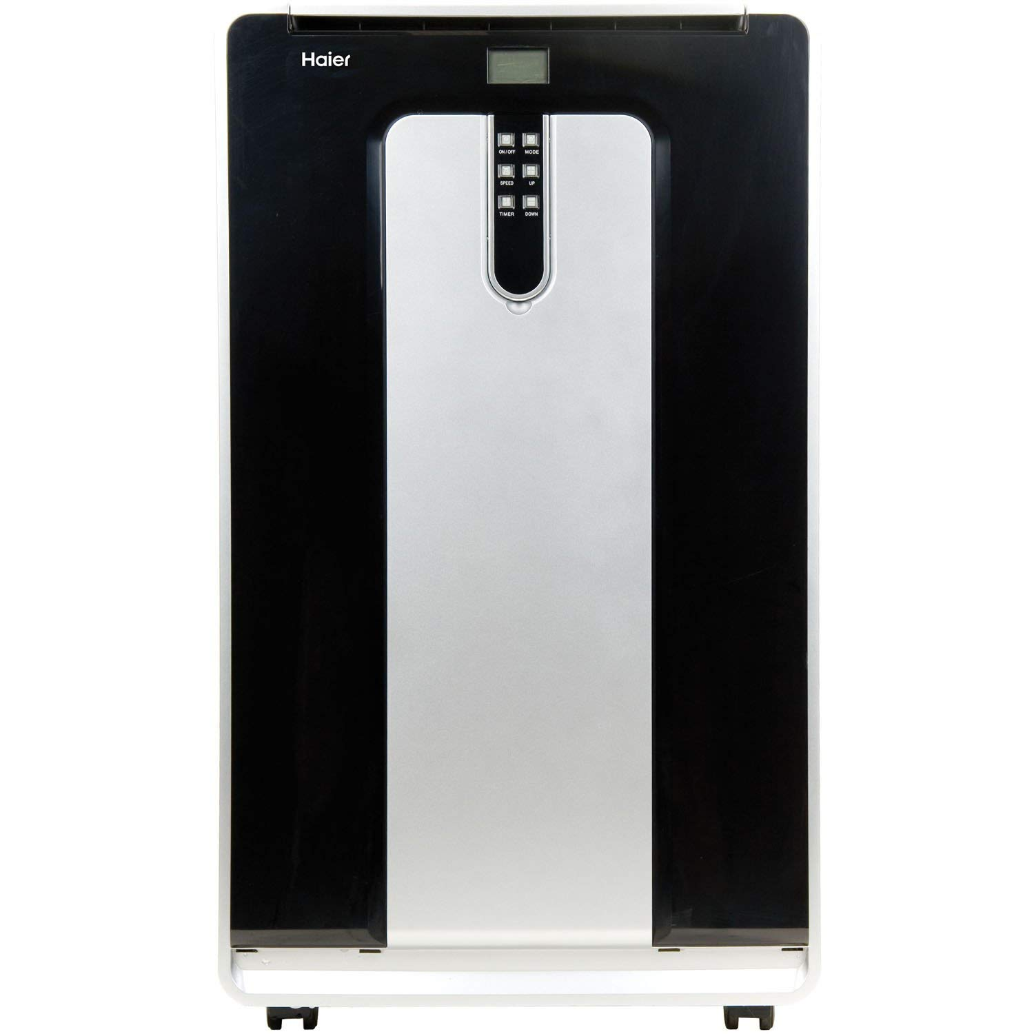 Haier HPND14XHT 14, 000 BTU 115V Dual-Hose Portable Air Conditioner with 10, 000 BTU Heat Mode