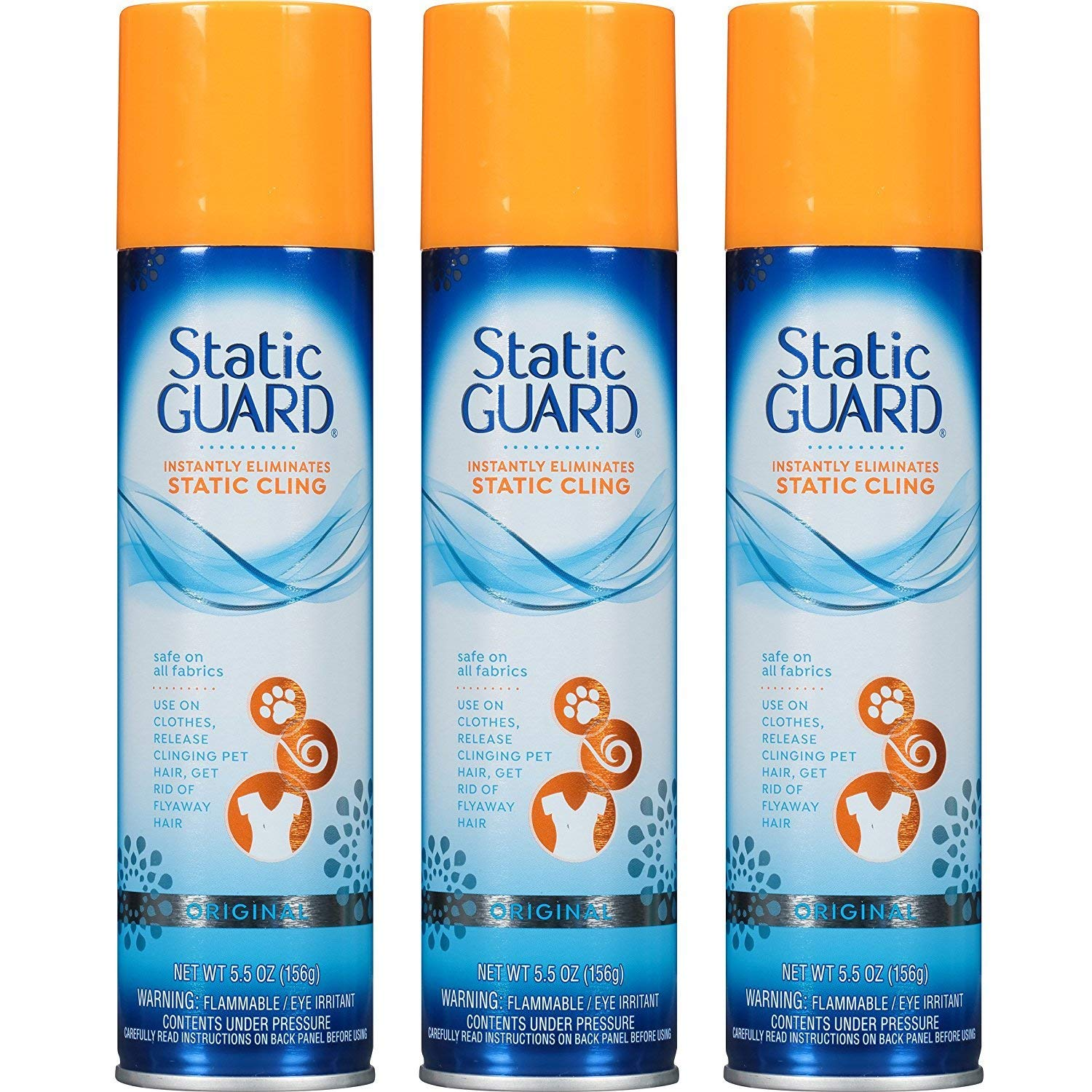 Static Guard Spray (Pack of 3)