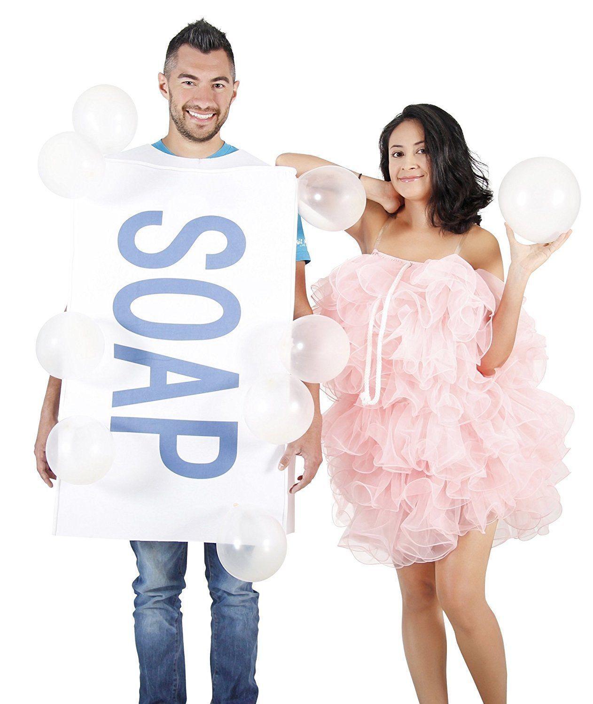 Costume Agent Soap Loofah Bubbles Adult Costume Set