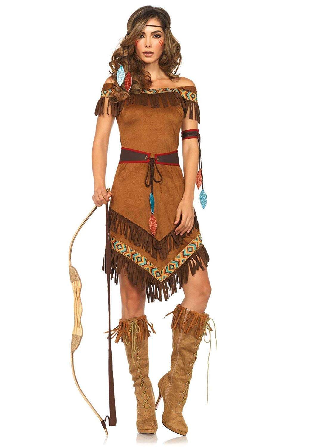 Leg Avenue Women's Native Princess Costume - Halloween Costumes for Women