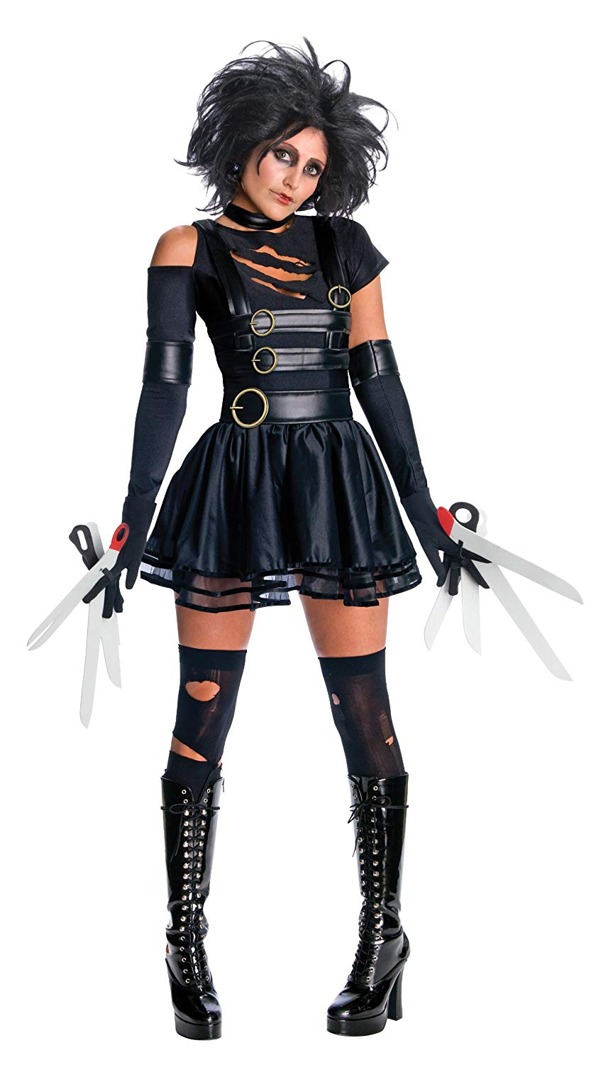 Secret Wishes Edward Scissorhands Sexy Miss Scissorhands Costume - Halloween Costumes for Women