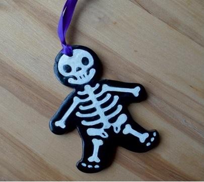 Skeleton Halloween Ornament