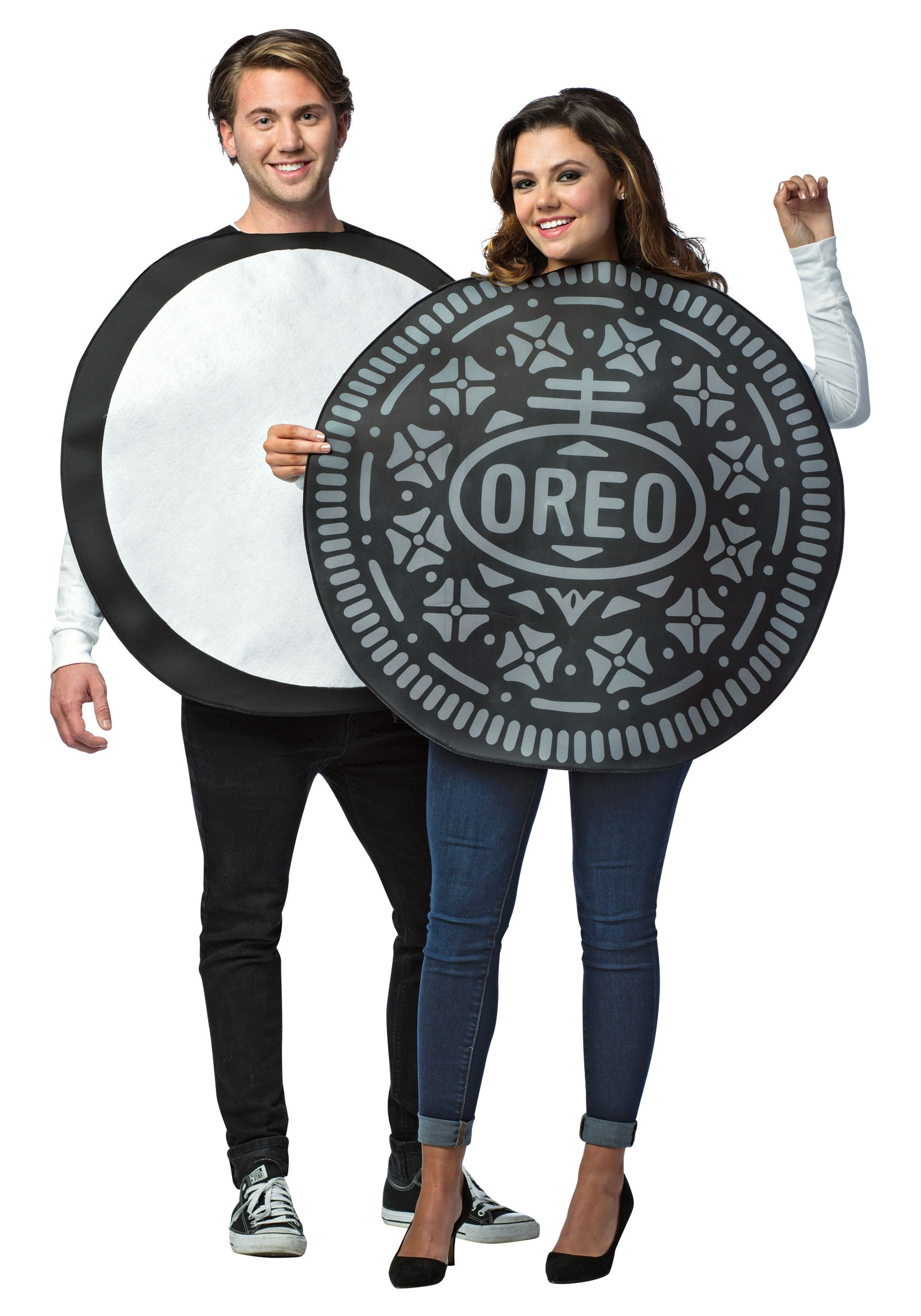 Morris Costumes Adult Oreo Cookie Couples Costume