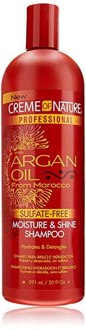 Crème of Nature Professional Argan Oil Moisture and Shine Shampoo