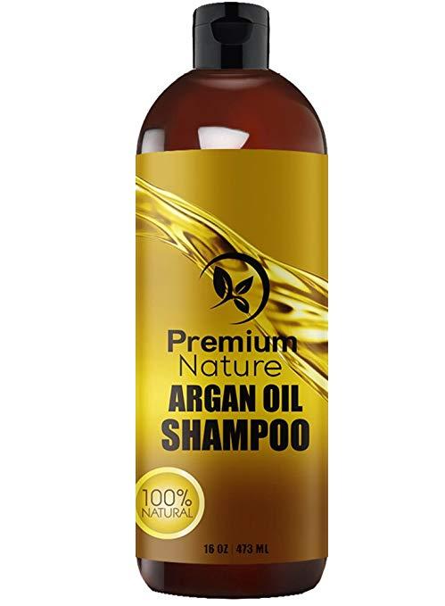 Argan Oil Shampoo Sulfate Free - Natural Clarifying & Volumizing