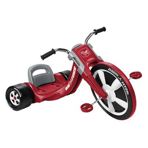 Radio Flyer 474 Deluxe Big Flyer, Red