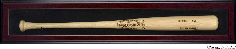 Mounted Memories Mahogany Single Bat Display Case