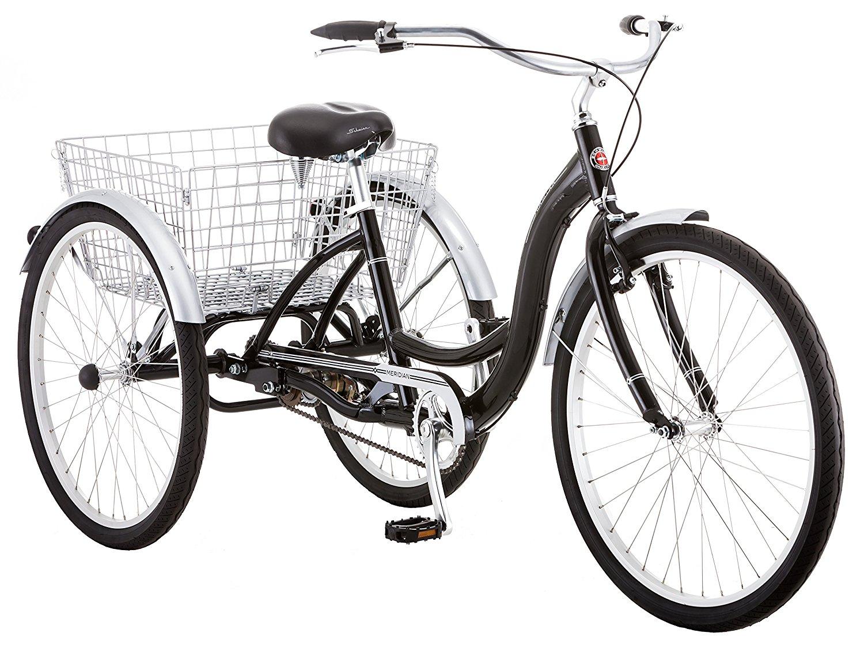 Schwinn Meridian Full-Size Adult Tricycle 26 wheel size Bike Trike