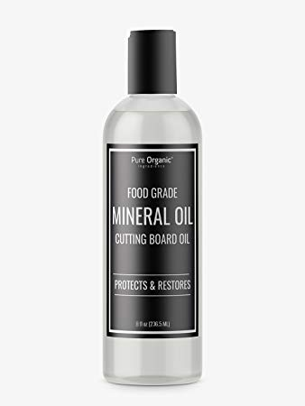 Pure Organic Ingredients Mineral Oil, Food Grade