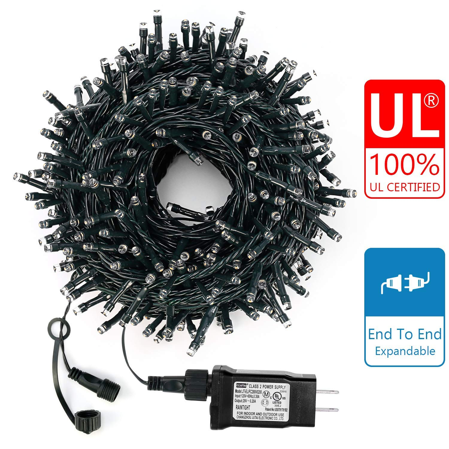 Decute Upgraded 300 LED Christmas Lights - LED String Lights For Christmas
