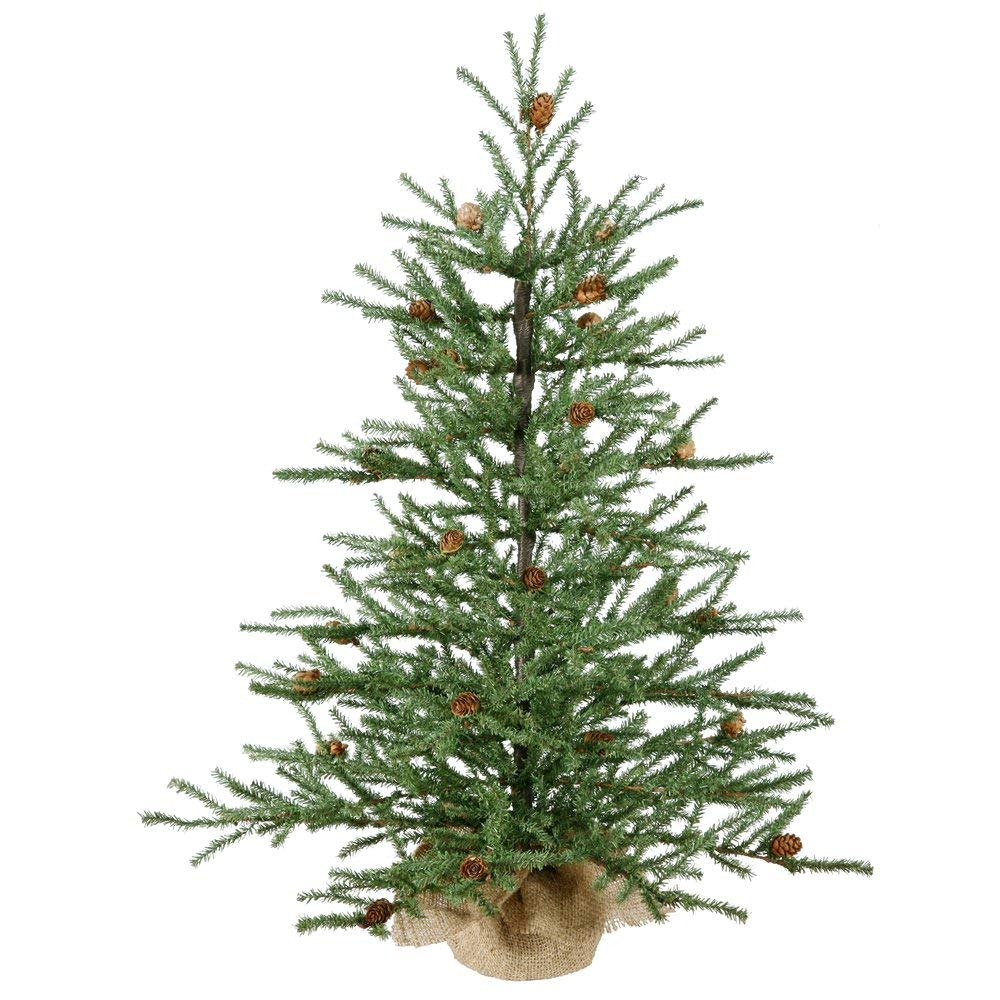 Vickerman 36 inch Carmel Pine Artificial Christmas Tree