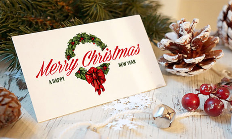 Top 10 Christmas Greeting Cards in 2019