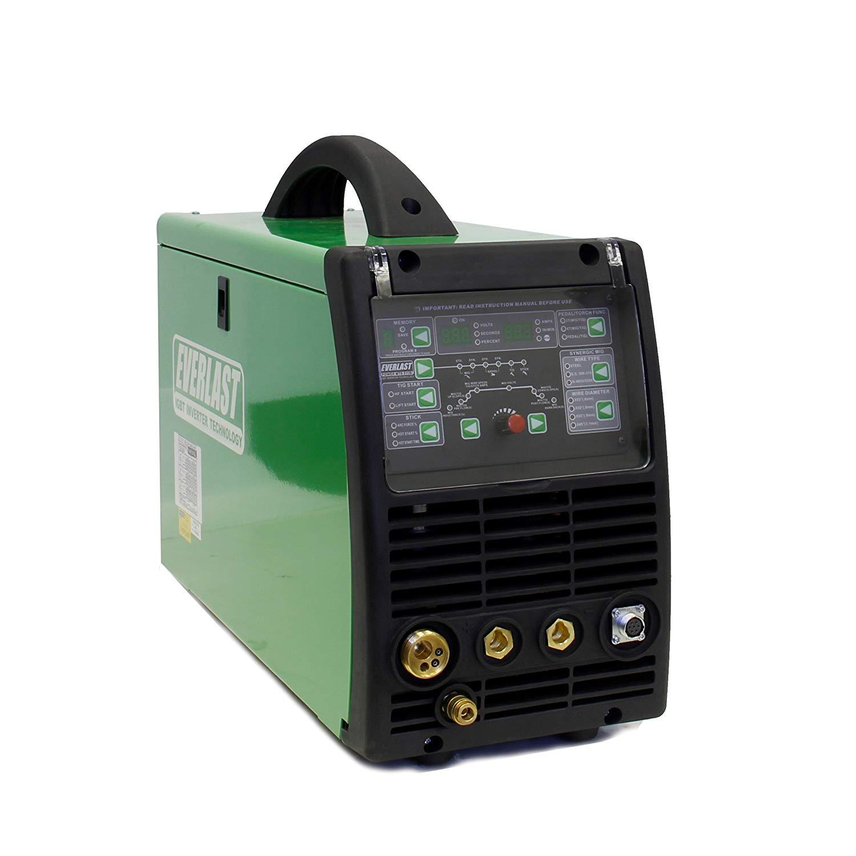 2019 Everlast PowerMTS 211Si MIG TIG Stick 200amp 110v/220v Multi Process new Welder