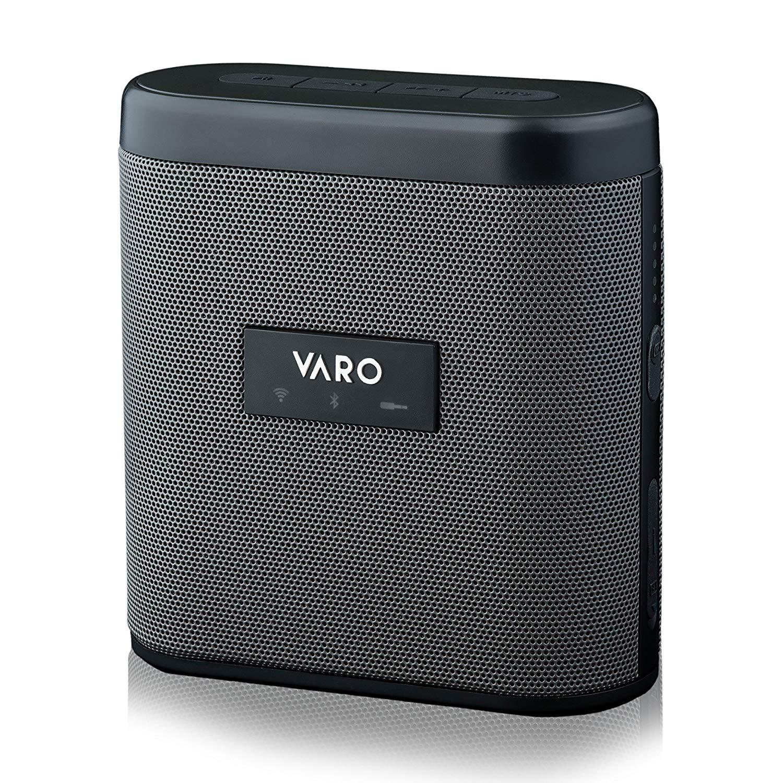 VARO Portable WiFi + Bluetooth Multi-Room Speaker, Water-Resistant Speaker, Sidekick (iOS Only)