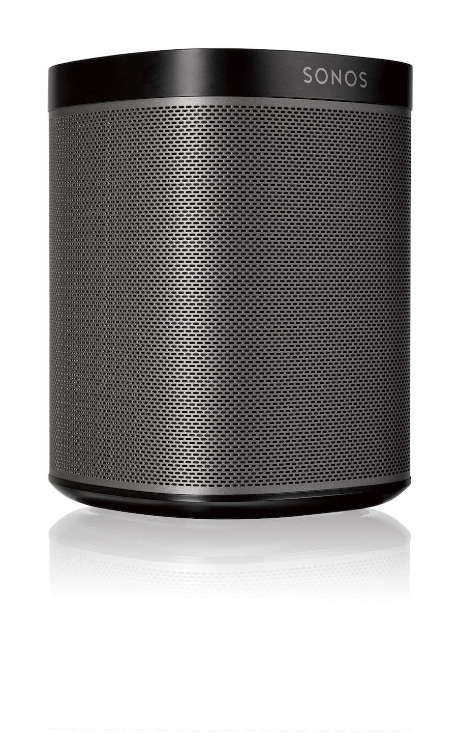 Sonos Play:1 – Compact Wireless Home Smart Speaker for Streaming Music. Works with Alexa. (Black)
