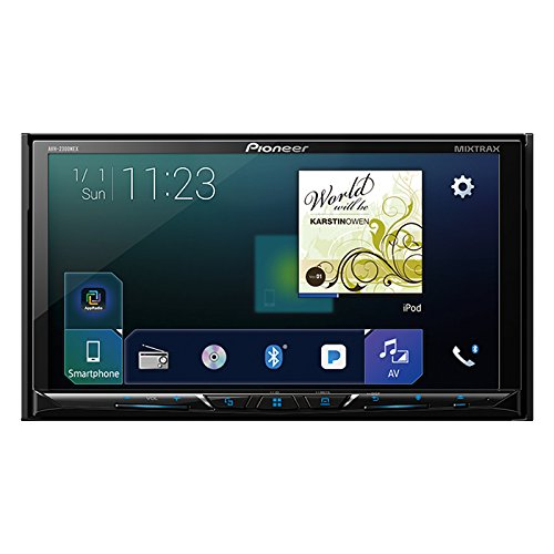 "Pioneer AVH-2300NEX Multimedia DVD Receiver 7"" WVGA Display/Apple CarPlay/Android Auto/Built-in Bluetooth/SiriusXM-Ready/AppRadio Mode +"
