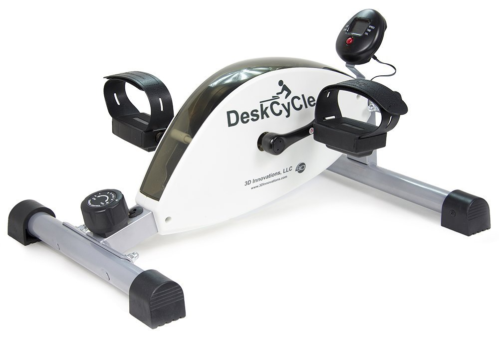 DeskCycleUnder Desk Exercise Bike and Pedal Exerciser
