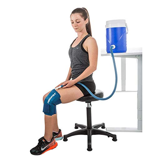 Aircast Cryo Cuff Knee Cold Therapy Machine Cooler for Cold Therapy Knee Solution
