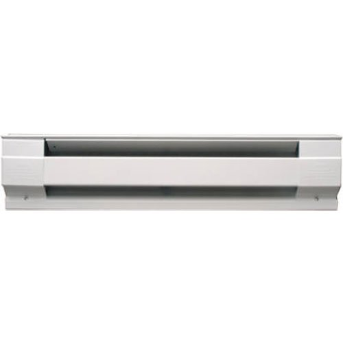 Cadet Manufacturing 09950 240-Volt White Baseboard Hardwire Electric Heater