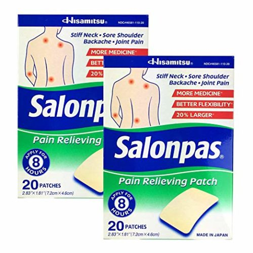 Salonpas Pain Relieving Patches