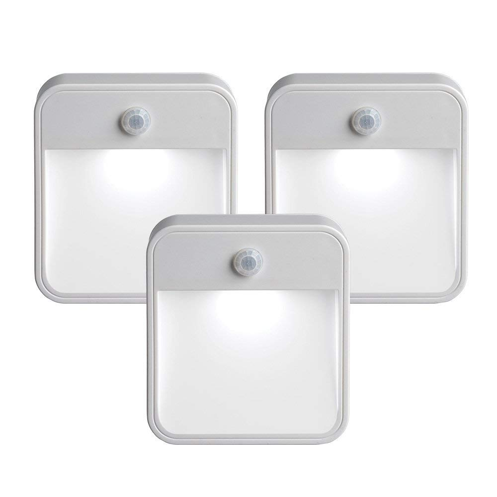Mr. Beams MB 723 MB723 Battery-Powered Motion-Sensing LED Stick-Anywhere Nightlight - Motion Activated Night Lights