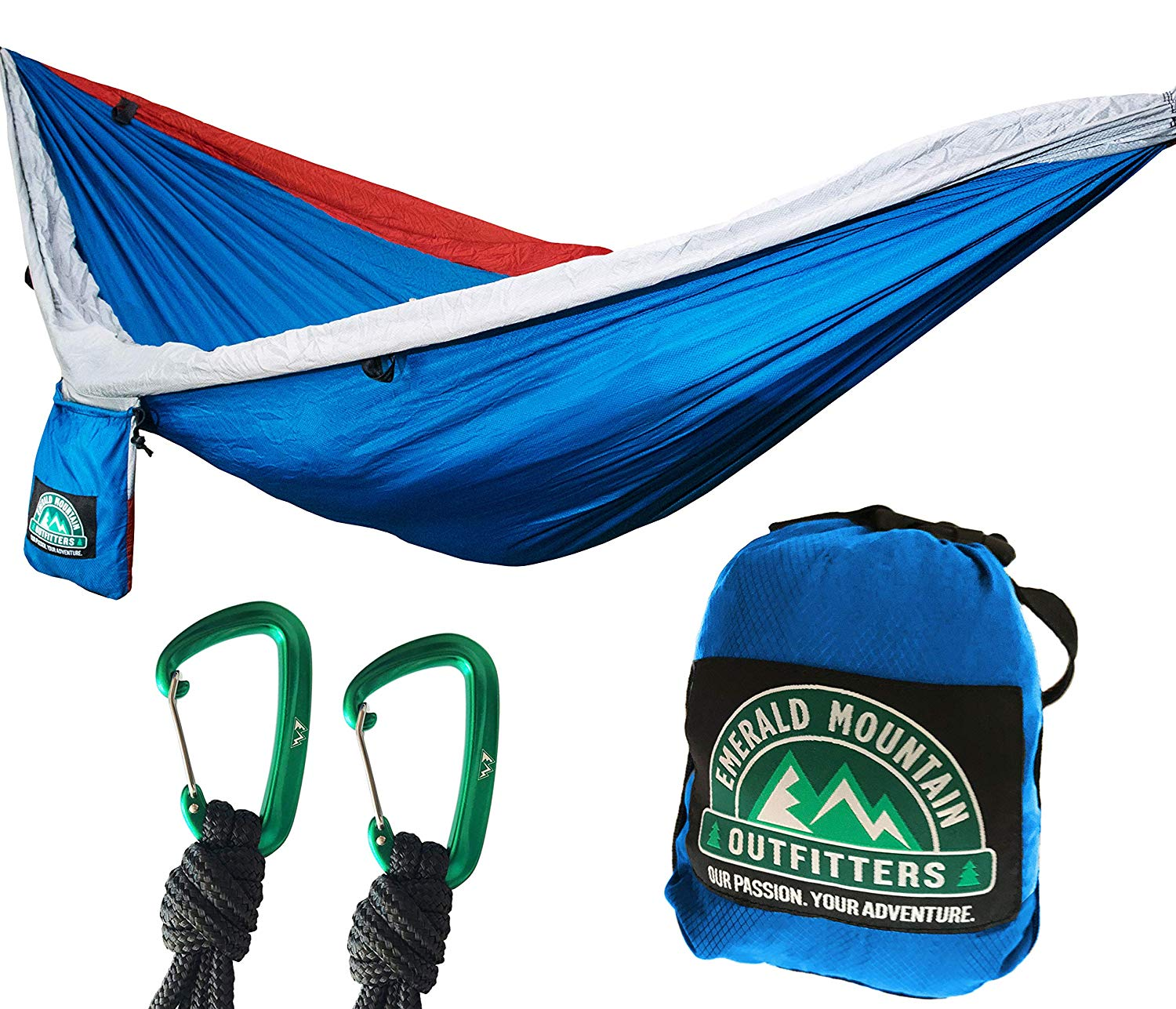 Emerald Mountain Double Camping Hammock