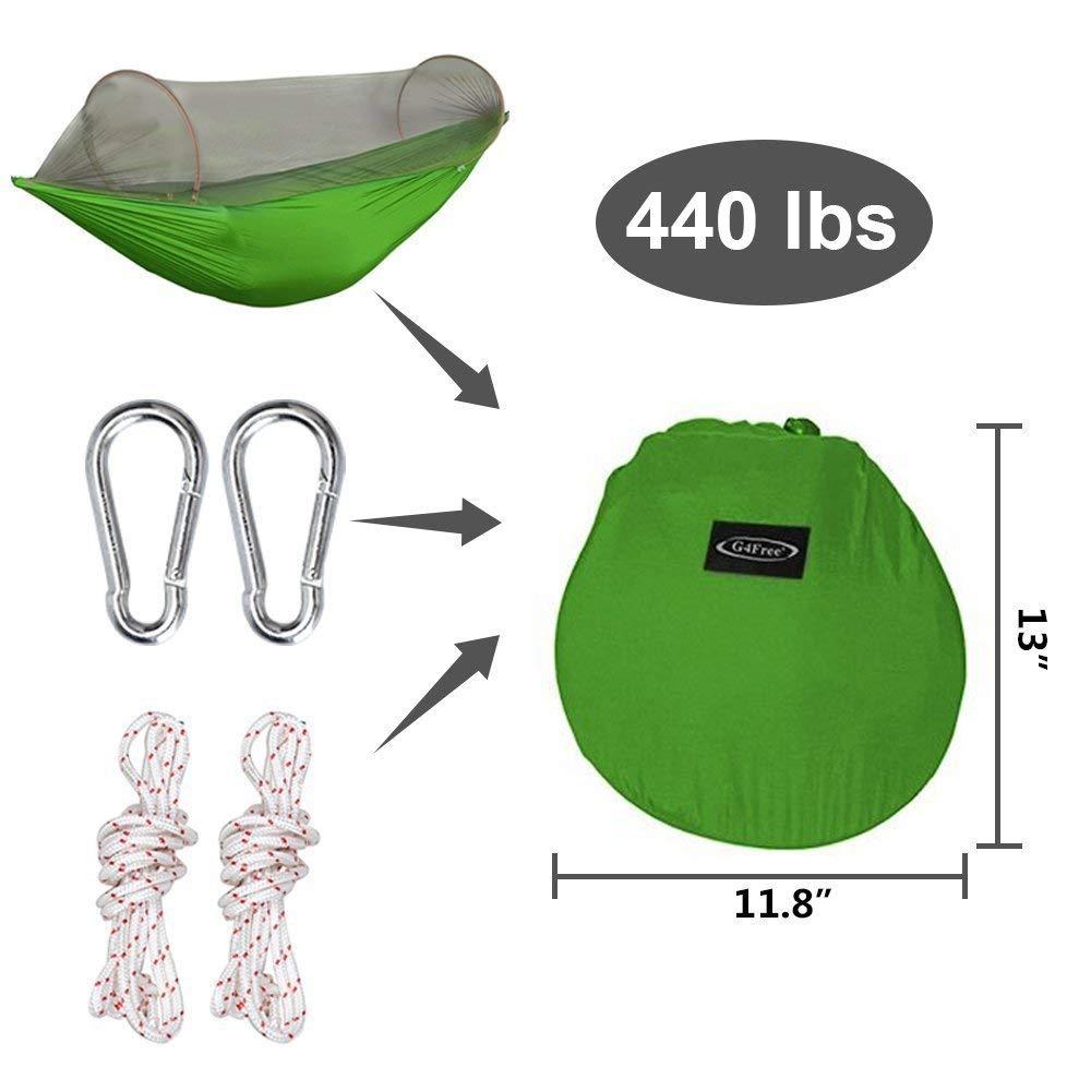 G4Free Portable & Foldable Camping Hammock
