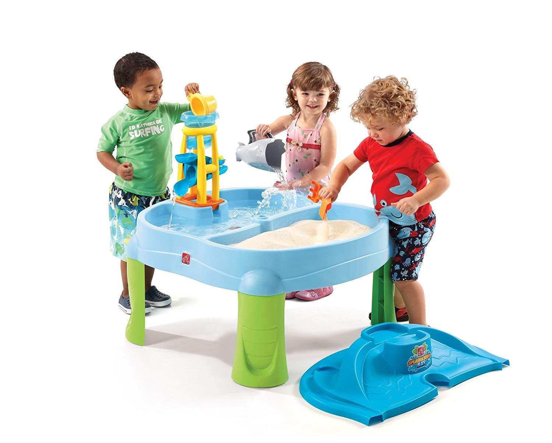 Step2 Splash N Scoop Bay Sand and Water Table - Sandboxes for Kids