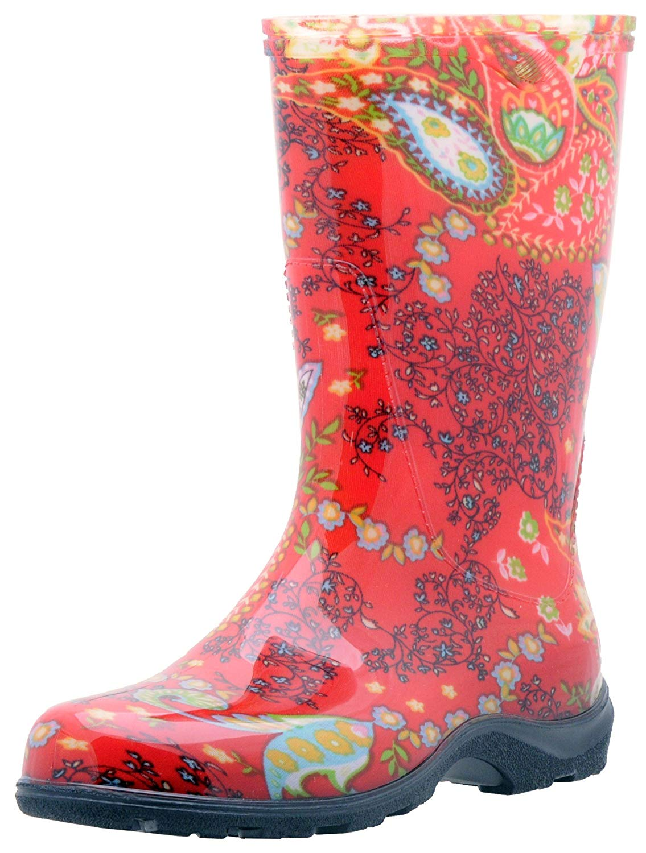 Sloggers Women's Waterproof Rain and Garden Boot