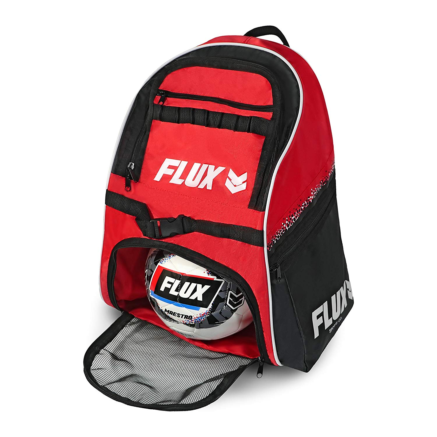 Flux Guardian Soccer Bag with Ball Holder