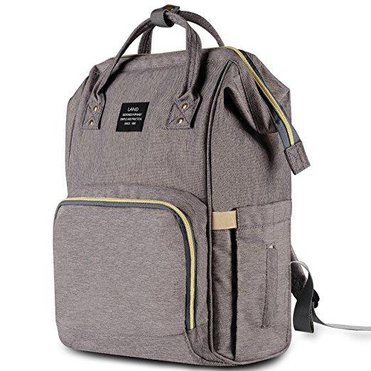 Halova diaper bag multifunction waterproof travel backpack nappy bags