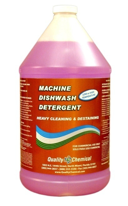 Commercial Industrial Grade Machine Dishwash Detergent-1 gallon