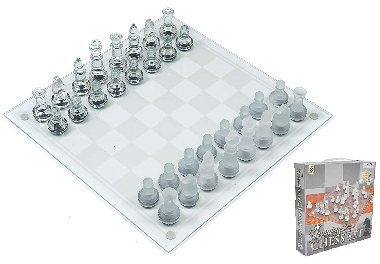 Play Kreative Glass Chess Game Set