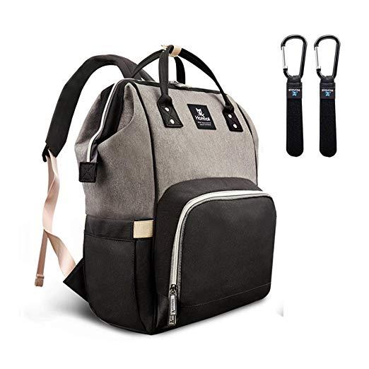 Hafmall Diaper Bag Backpack Waterproof