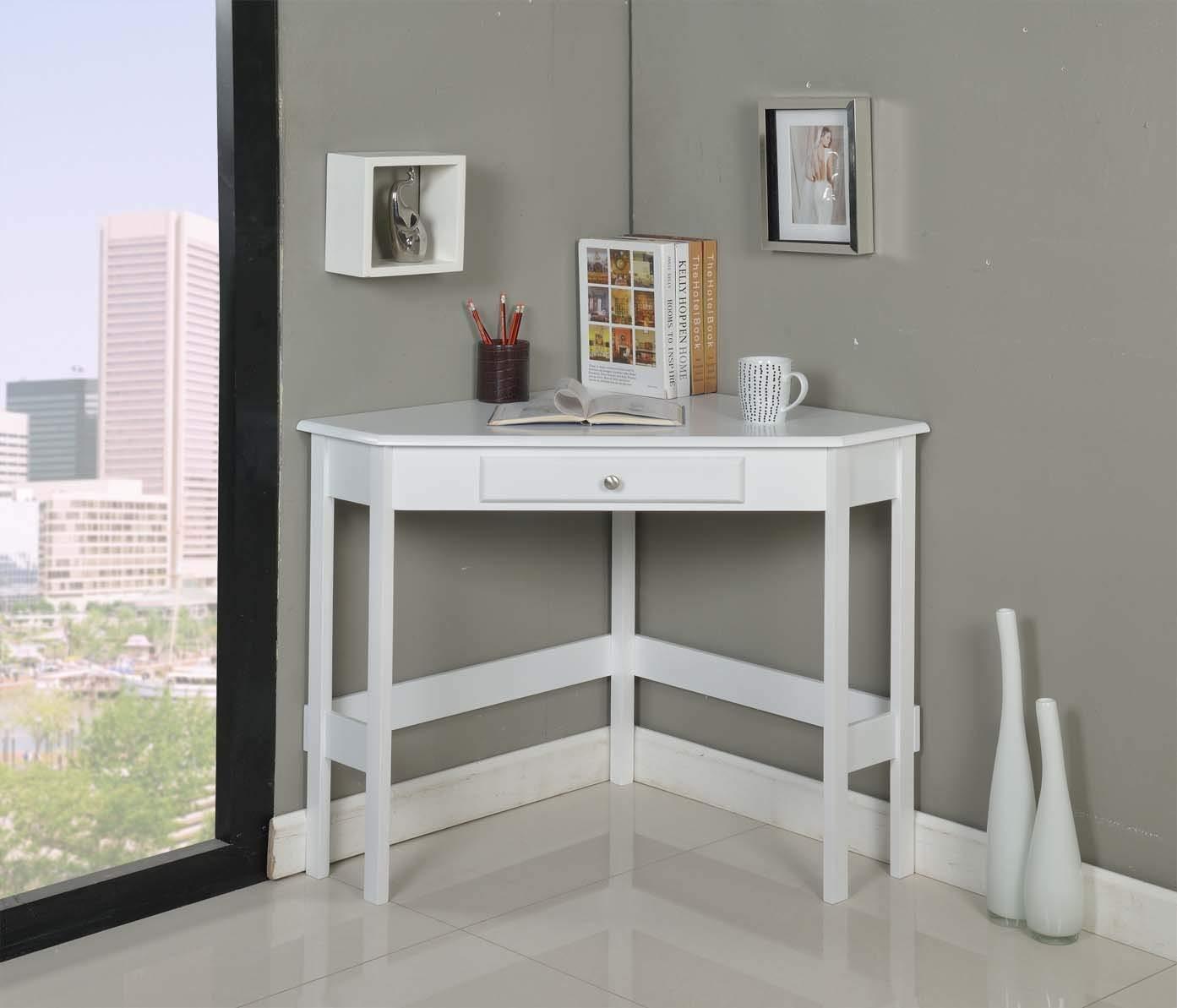 Kings Brand Furniture Wood Corner Desk