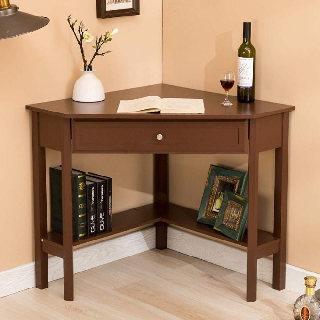 Mecor Wood Corner Desk