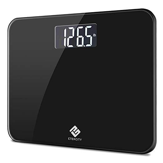 Etekcity High Precision Digital Body Weight Bathroom Scale