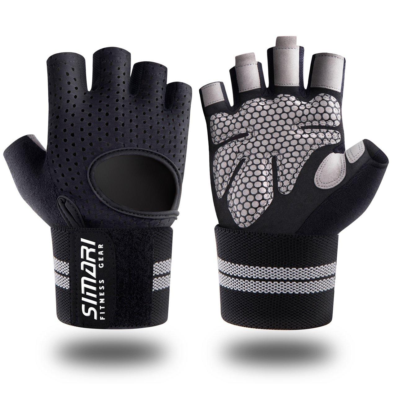 SIMARI Workout Gloves Women Men