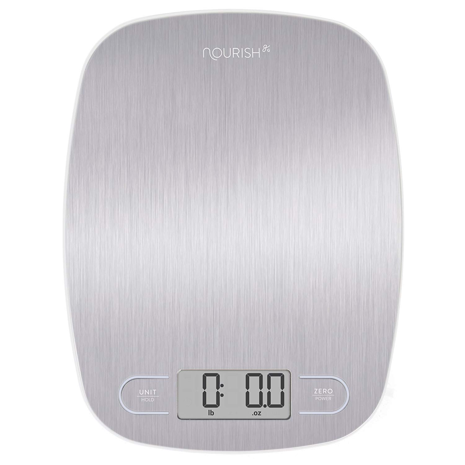 Digital Kitchen Scale Stainless Steel from Greater Goods
