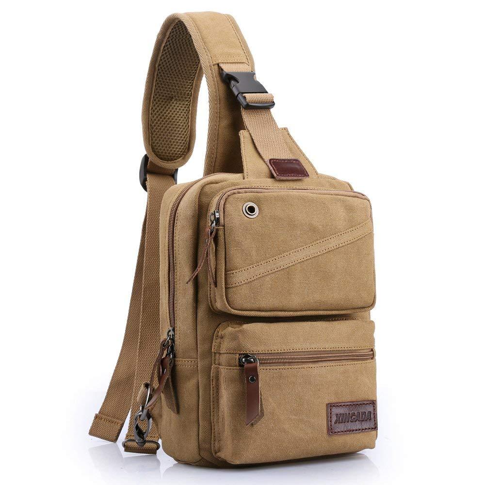 XINCADA Sling Bag Man Purse Crossbody Bags