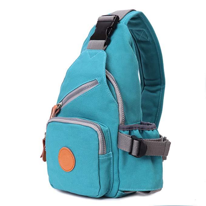 Eshow Women Chest Pack Shoulder Bag