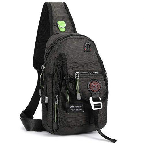 Nicgid Sling Bag Chest Shoulder Backpack Crossbody Bags