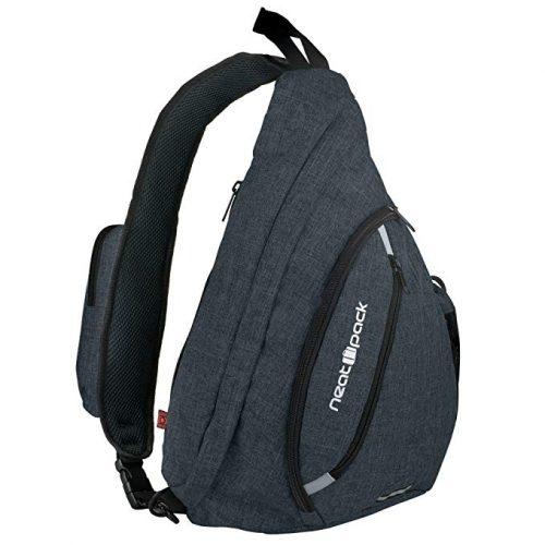 Versatile Canvas Sling Bag/Urban Travel Backpack - Sling Bags for men
